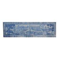 "18th century Portuguese azulejos ""Garden"""
