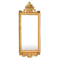 A Gustavian mirror attributed to Joseph Schürer, ca 1775