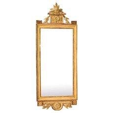 A Gustavian mirror attributed to Joseph Schürer, ca 1775