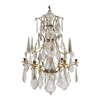 Swedish Baroque Chandelier