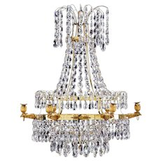 Swedish Empire Chandelier