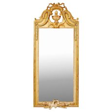 Swedish Gustavian Mirror, 18th Cent. Signed Johan Åkerblad, Stockholm.