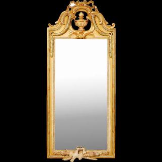 Swedish Gustavian Mirror, 18th Cent. Signed Johan Åkerblad, Stockholm.