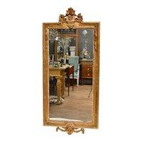 Gustavian Mirror, Giltwood, 18th Century