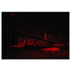 """NYC """" Red Passion"""" #03, 2017 (Masterpiece)"""