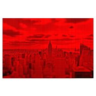 "NYC "" Red Passion"" #01, 2017 (Masterpiece)"