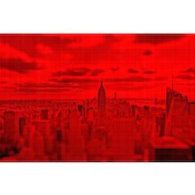 """NYC """" Red Passion"""" #01, 2017 (Masterpiece)"""