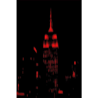 "NYC ""Red Passion"" # 09, 2017 (Masterpiece)"