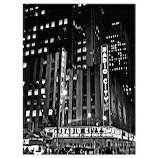 Radio City, 6th Avenue, 2015, NYC