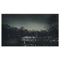 Boat House, Central Park, 2012, NYC