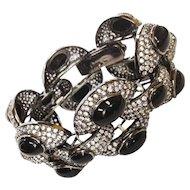 Swarovski Onyx Link Bracelet