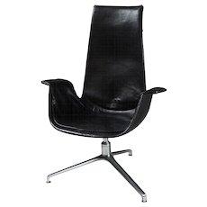 Armchair designed by Preben Fabricius & Jörgen Kastholm for Alfred Kill, Denmark. 1960's.