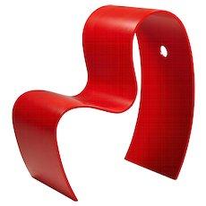 Children's chair, Lilla M. Designed by Caroline Schlyter, Sweden. 1990's.