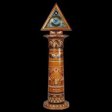 Grandfather clock designed by Jens Jacob Bregnö, Denmark. 1927.