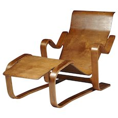 Long chair. Designed by Marcel Breuer for Isokon, England. 1936.