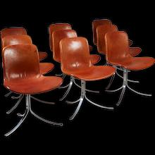 Dining Chairs PK9 Designed by Poul Kjaerholm for E Kold Christensen