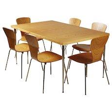 Dining Set Designed by Tapio Wirkkala for Asko, Finland, 1950s