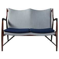 Sofa NV45 Designed by Finn Juhl for Niels Vodder, Denmark