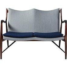 Sofa NV45 Designed by Finn Juhl for Niels Vodder, Denmark