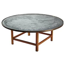 Occasional Table Designed by Josef Frank for Svenskt Tenn, Sweden 1950s
