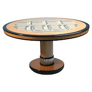Occasional Table, Designed By Piero Fornasetti, Italy. 1960's.