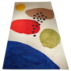 "Rug ""Utöar"" designed by Thomas Sandell for Kasthall,  Sweden. 1990's."
