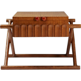Sewing table designed by Mogens Lassen for K. Thomsen,	 Denmark. 1941.