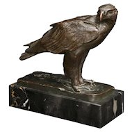 """Sea Eagle"" bronze sculpture by Josef Pallenberg"
