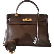 Hermès Kelly 32 Brown box
