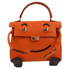 Hermes Kelly Idole (Kelly Doll) Gulliver Orange
