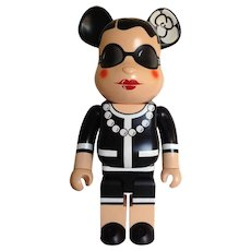 Exceptional and collectible Chanel Bearbrick