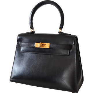 Hermès Kelly 20 Sellier Black Box