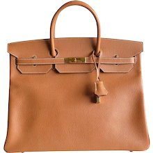 Authentic Hermès Birkin 40 in Vache Ardennes Gold