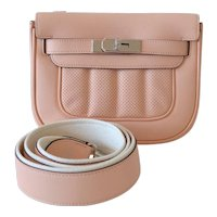 Hermes handbag Mini Berline Swift Rose Sakura
