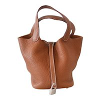 Hermes Picotin PM Gold