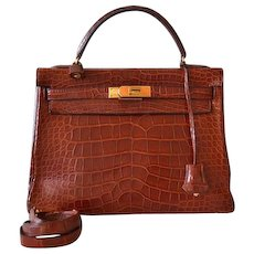 Hermès Kelly 32 Miel Alligator