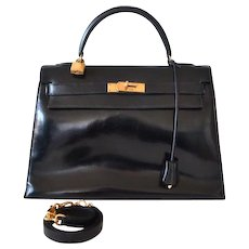 Hermès Kelly 32 Black box