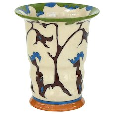 "Theo Colenbrander Art Deco Vase, Decor ""Rank"" (""Tendril""), 1923, Ram Pottery"