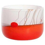 Studio Glass One-Off by Willem Heesen, Made In Studio De Oude Horn