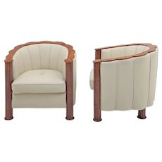 Pair of elegant Art Deco Armchairs