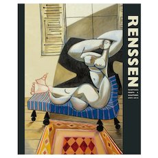 RENSSEN · Painting, Prints & Sculptures 2009 - 2015 · Cover with The Painter & his Model (2010)