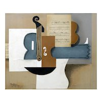 Instruments V | 2013 | Mixed media on canvas | Erik Renssen (NL. 1960)