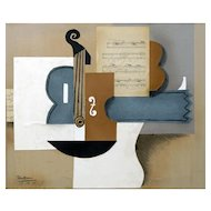 Instruments V | 2013 | Mixed media on canvas | Erik Renssen (NL. 1960)