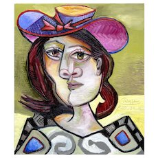 Woman with Red Hair II | 2014 | Oil painting | Erik Renssen (NL. 1960)