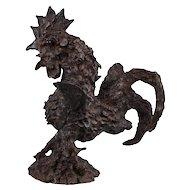 The Rooster | 2015 | Bronze sculpture | Erik Renssen (NL. 1960)
