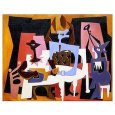 Three Musicians | 2015 | Oil painting | Erik Renssen (NL, 1960)