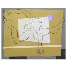The Gymnast | 2015 | Oil painting | Erik Renssen (NL. 1960)