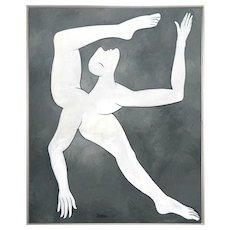 La danseuse   2018   Oil painting   Erik Renssen (NL. 1960)