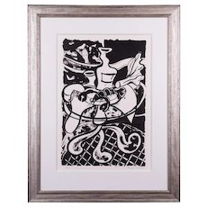 Lobster on a Table | 2010 | Lithograph | Erik Renssen (NL. 1960)