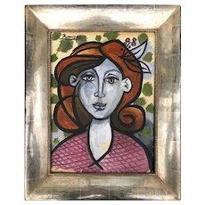 Portrait of a lady   2020   Oil Painting   Erik Renssen (NL. 1960)